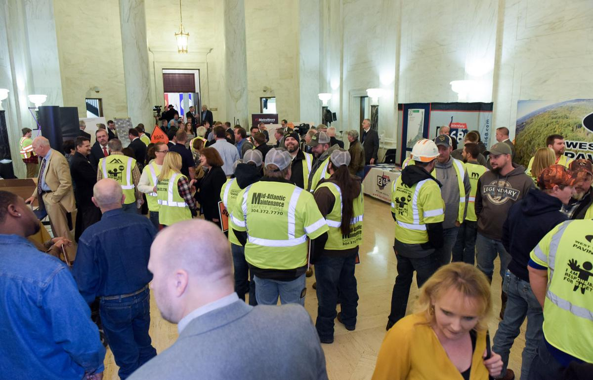 Capitol transportation rally
