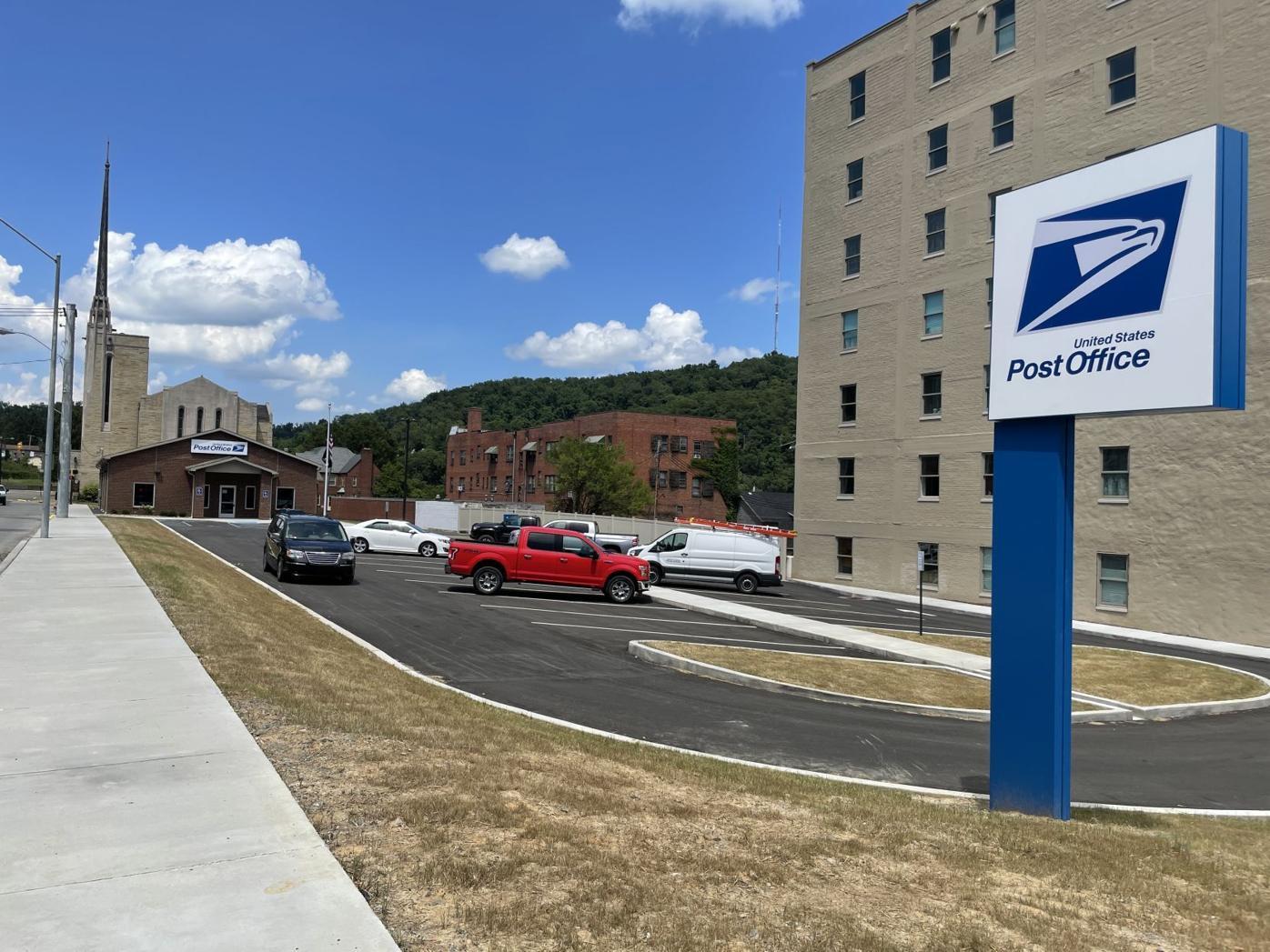 Post office parking lot