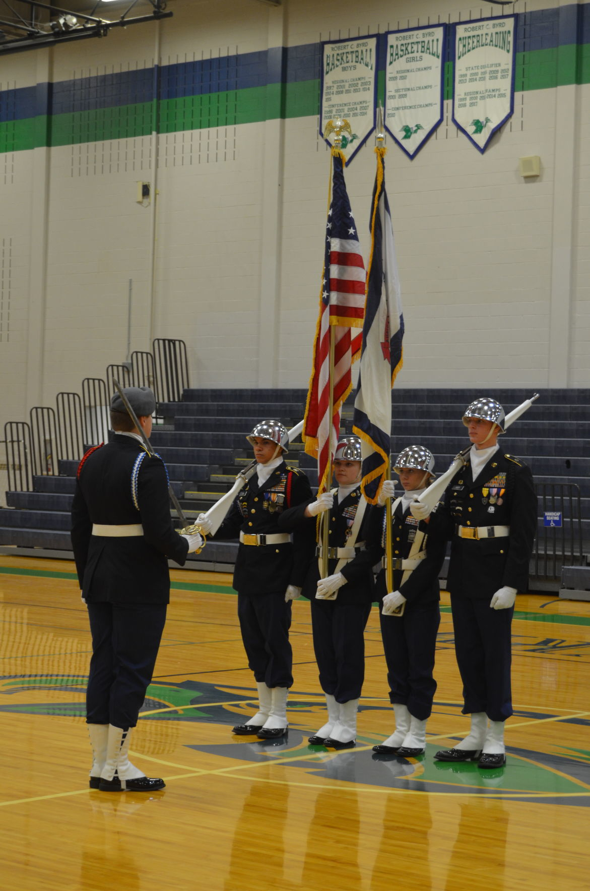 RCB JROTC Color Guard