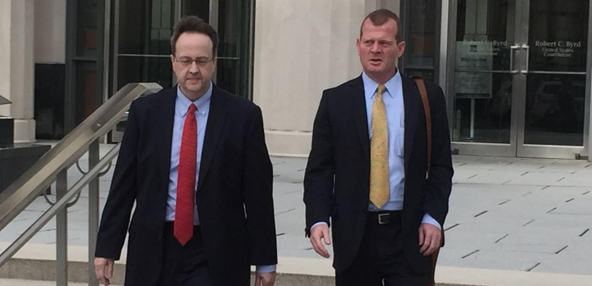 Former justice Allen Loughry leaving courthouse (copy)