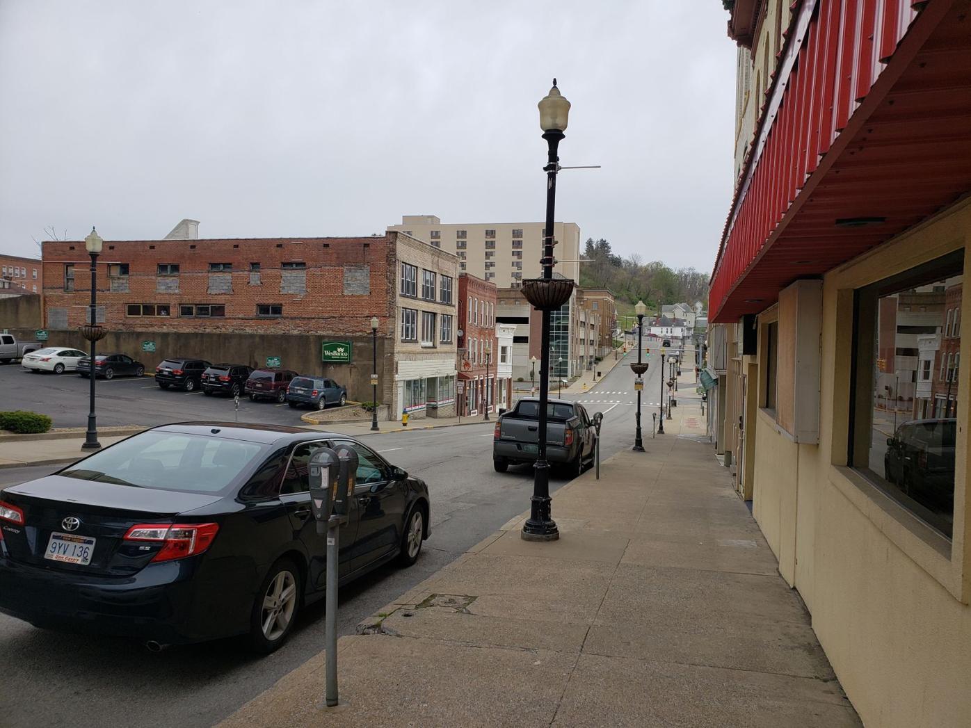 Downtown Fairmont - April 2020