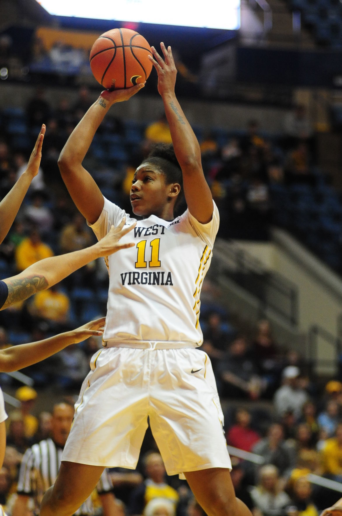 Teana Muldrow with a monster move inside.JPG