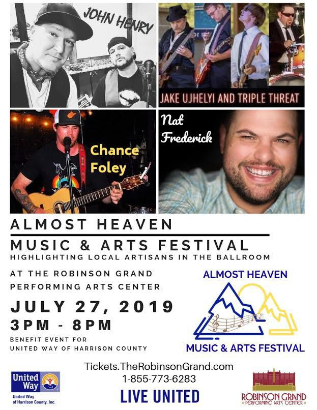 Almost Heaven Music & Arts Festival poster