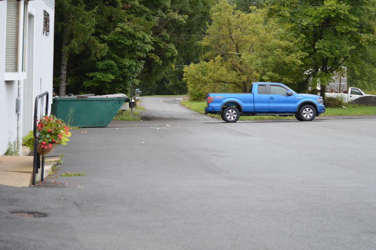 Parking lot at Houses & More