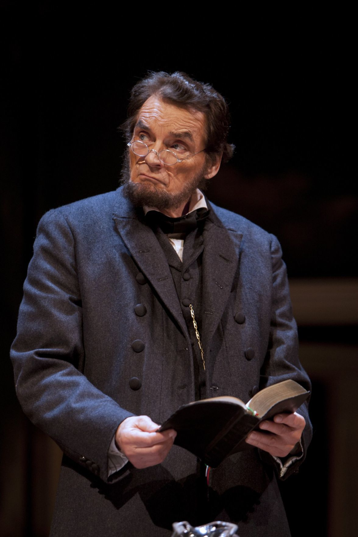 David Selby as Lincoln