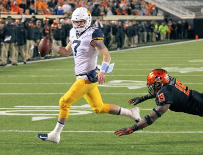 Will Grier scampers for TD