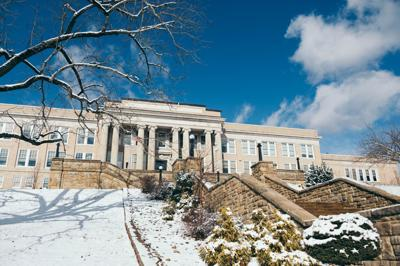Hardway Hall in Winter