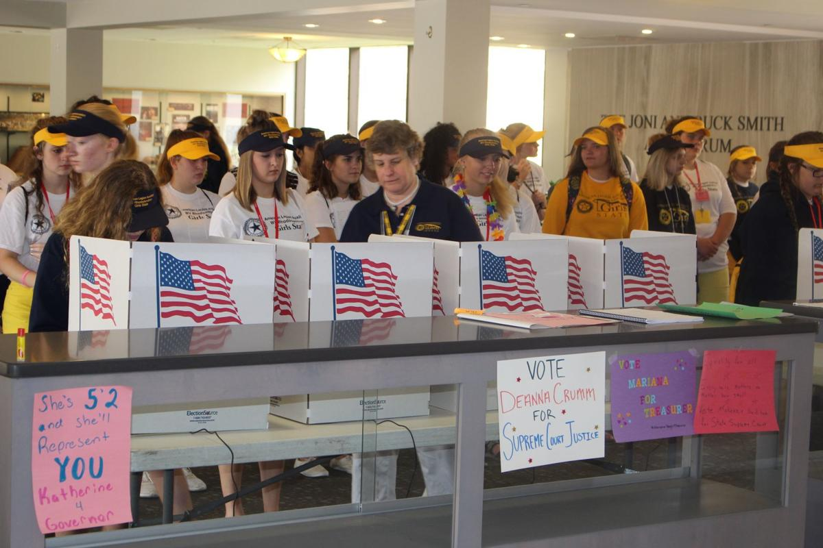 Girls state elections
