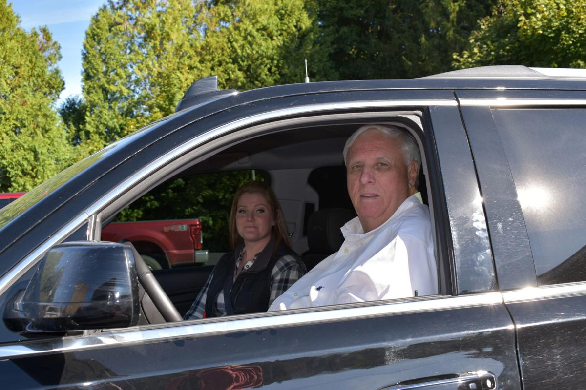 Gov. Jim Justice and Commissioner Samantha Stone