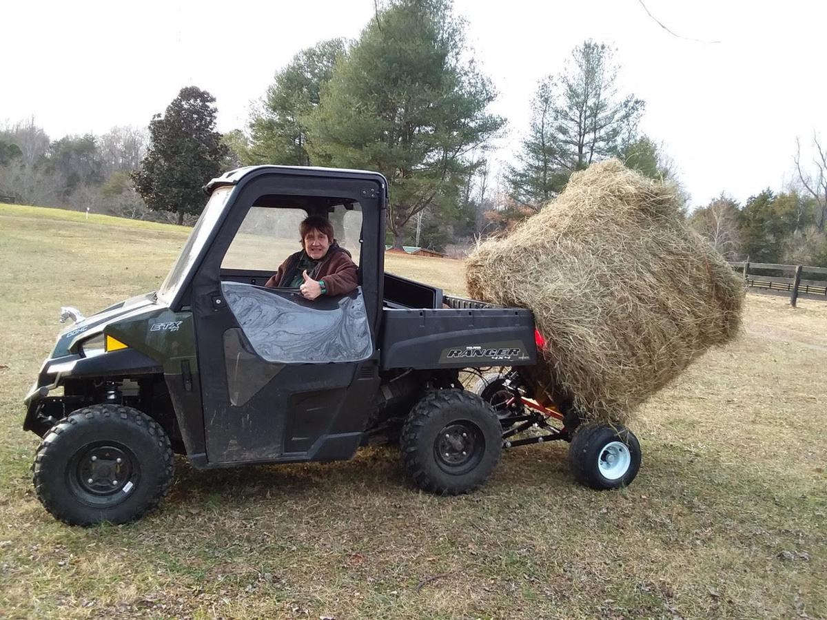 Fast using Hay Baby