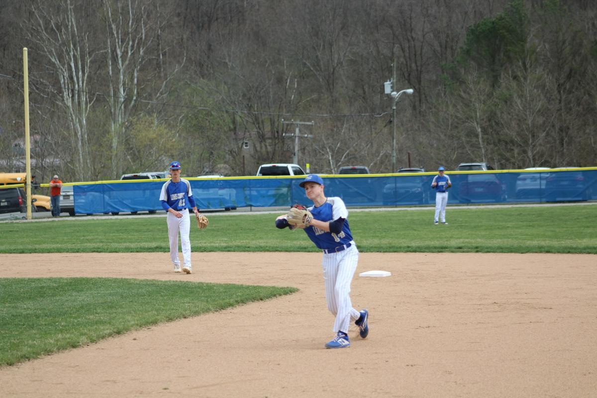 The throw to first