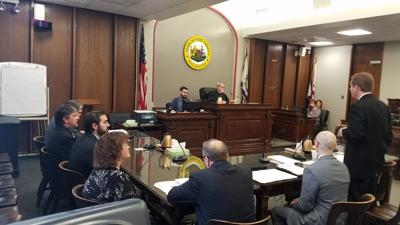 Judge Wilson's courtroom - opening remarks