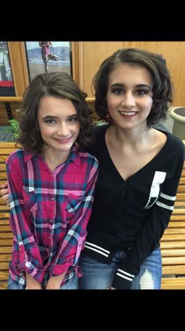Adrianna and Alexis together