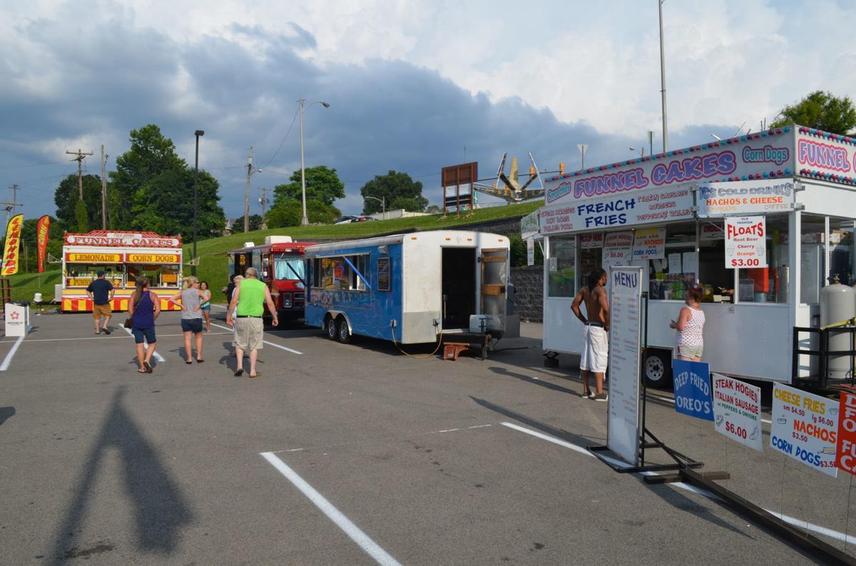 Palatine Parks - July 4 food