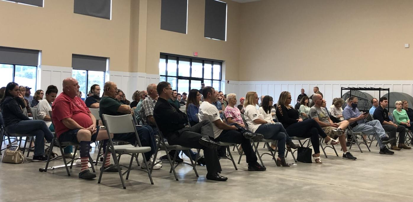 Patrick Morrisey town hall; Oct. 6, 2021