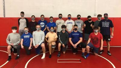 LC Wrestling Team 2021