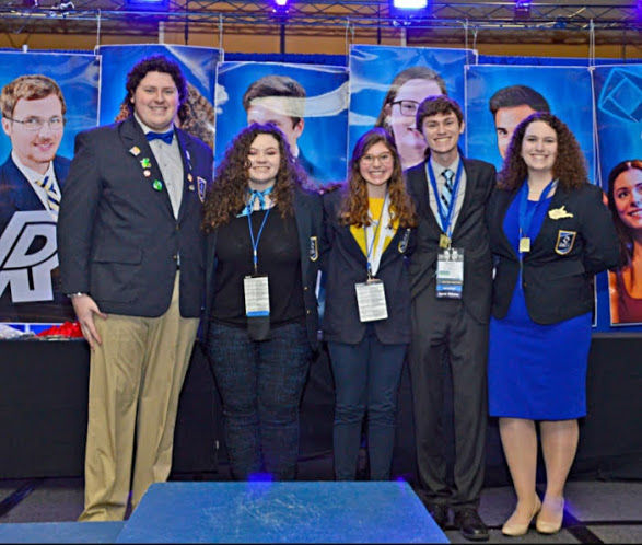 New WV DECA officers