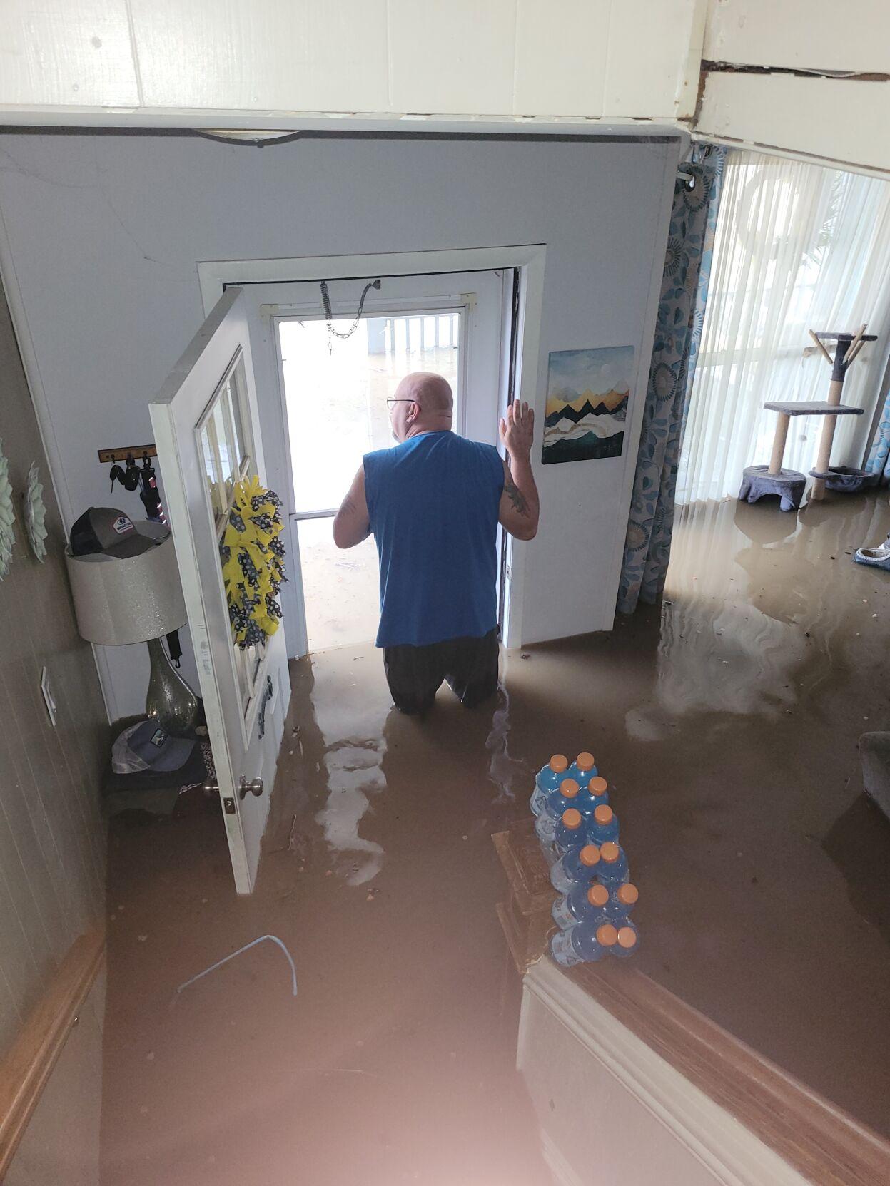 Tunnelton house flooded