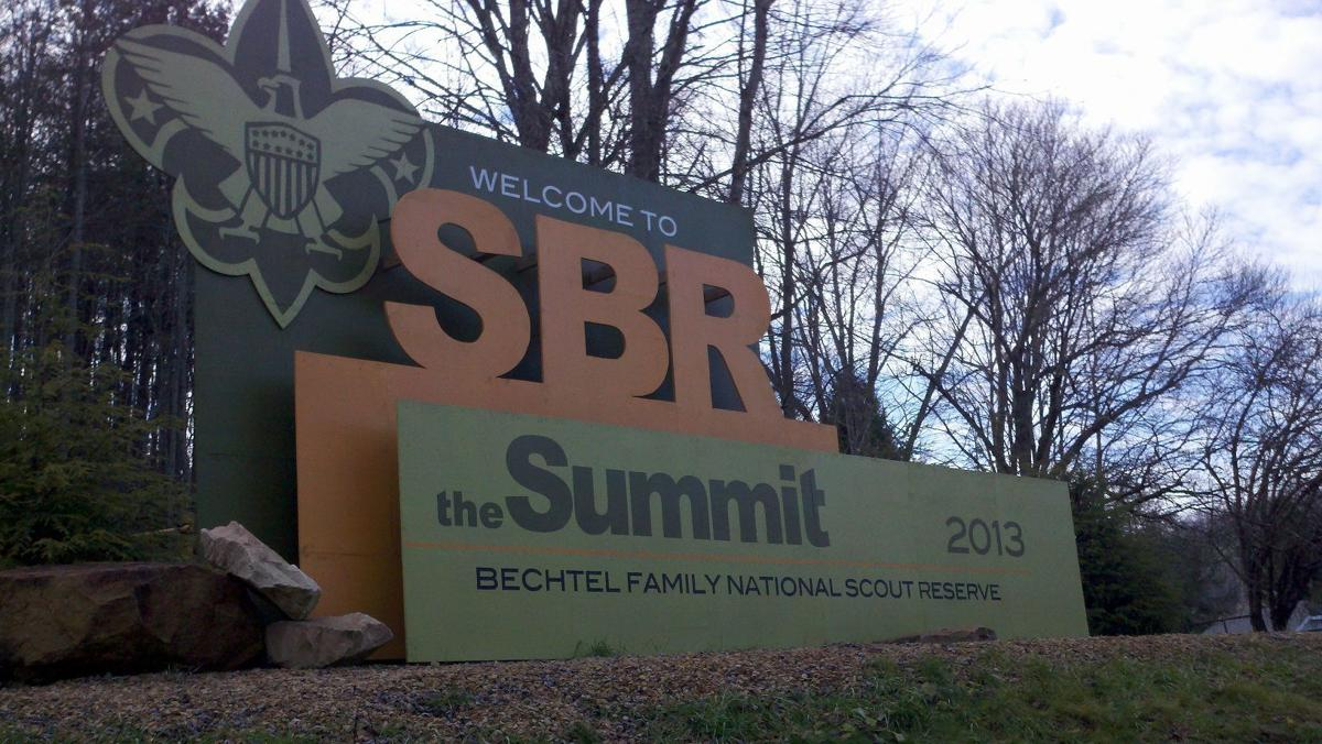 SBR welcome sign