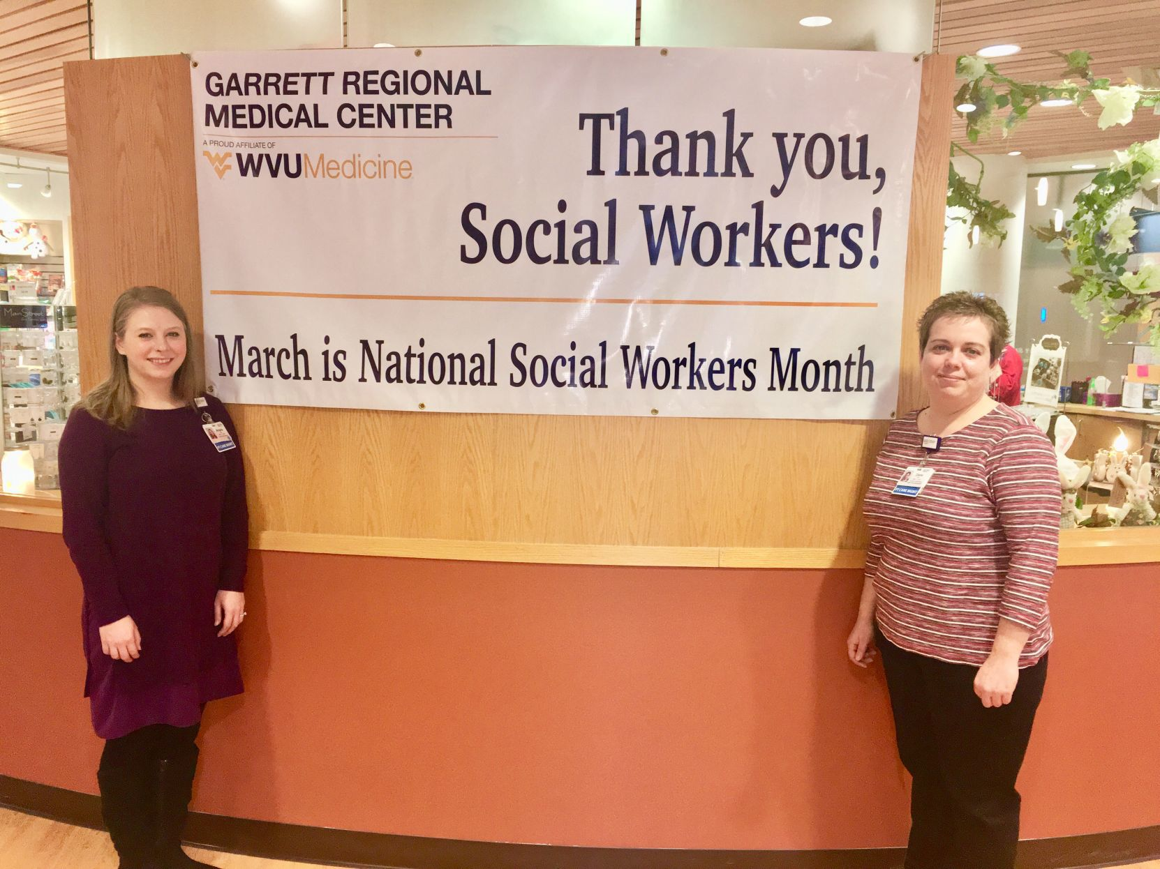 GRMC Social workers National Social Work Month