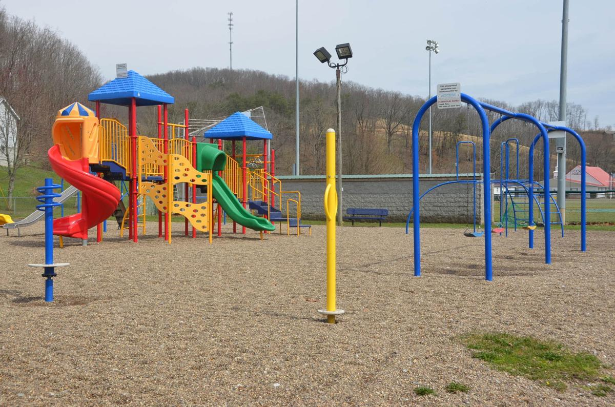 Jane Lew playground equipment