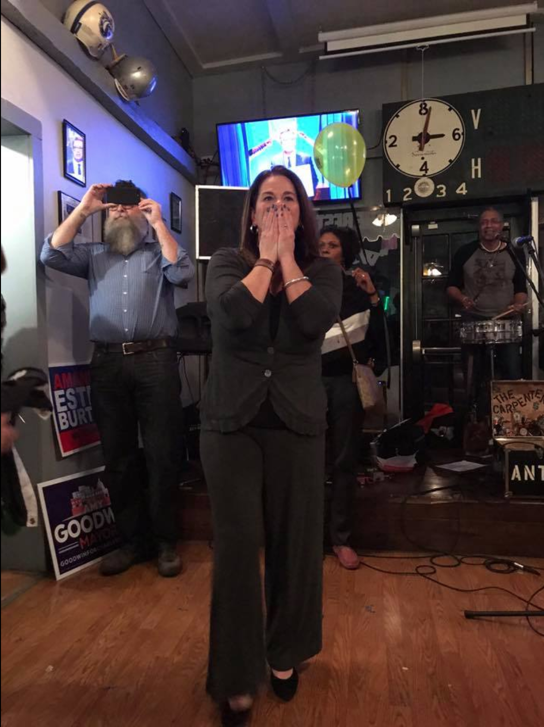 Amy Goodwin wins Charleston Mayor Race