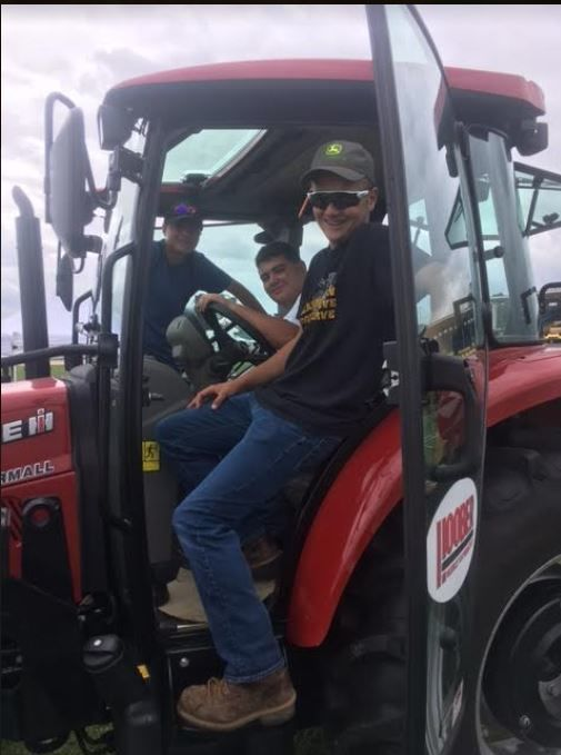 Tractor event winners