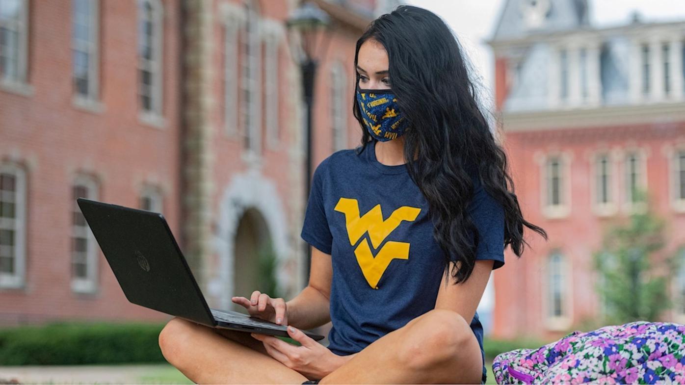 WVU Mask