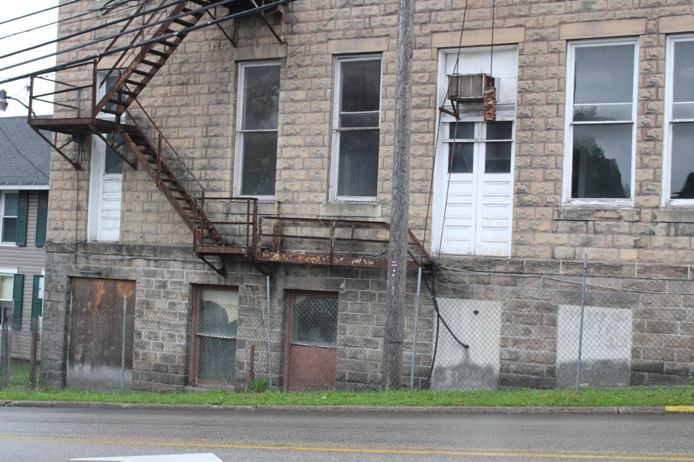 Herring Building fire escape