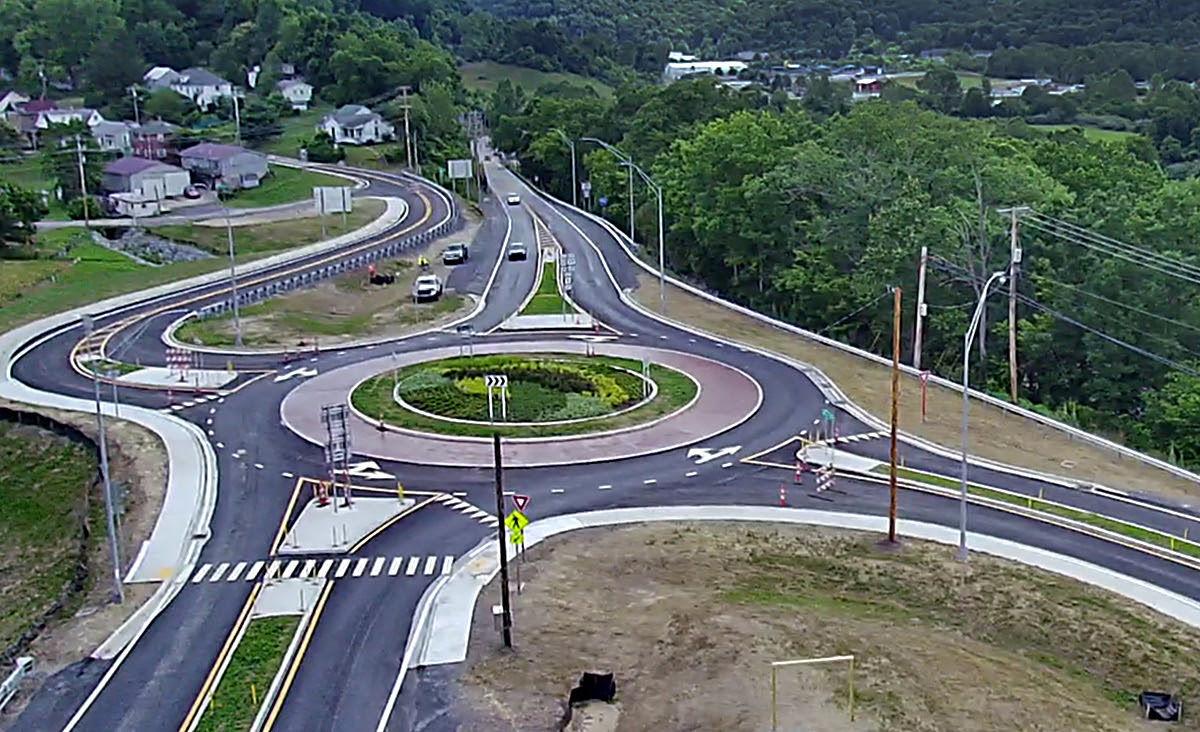 Glenville Roundabout