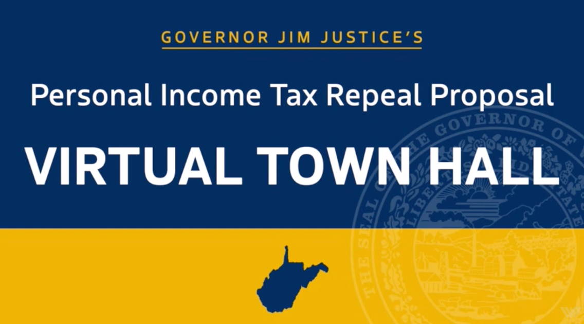 West Virginia Gov. Justice to submit tax bill this week