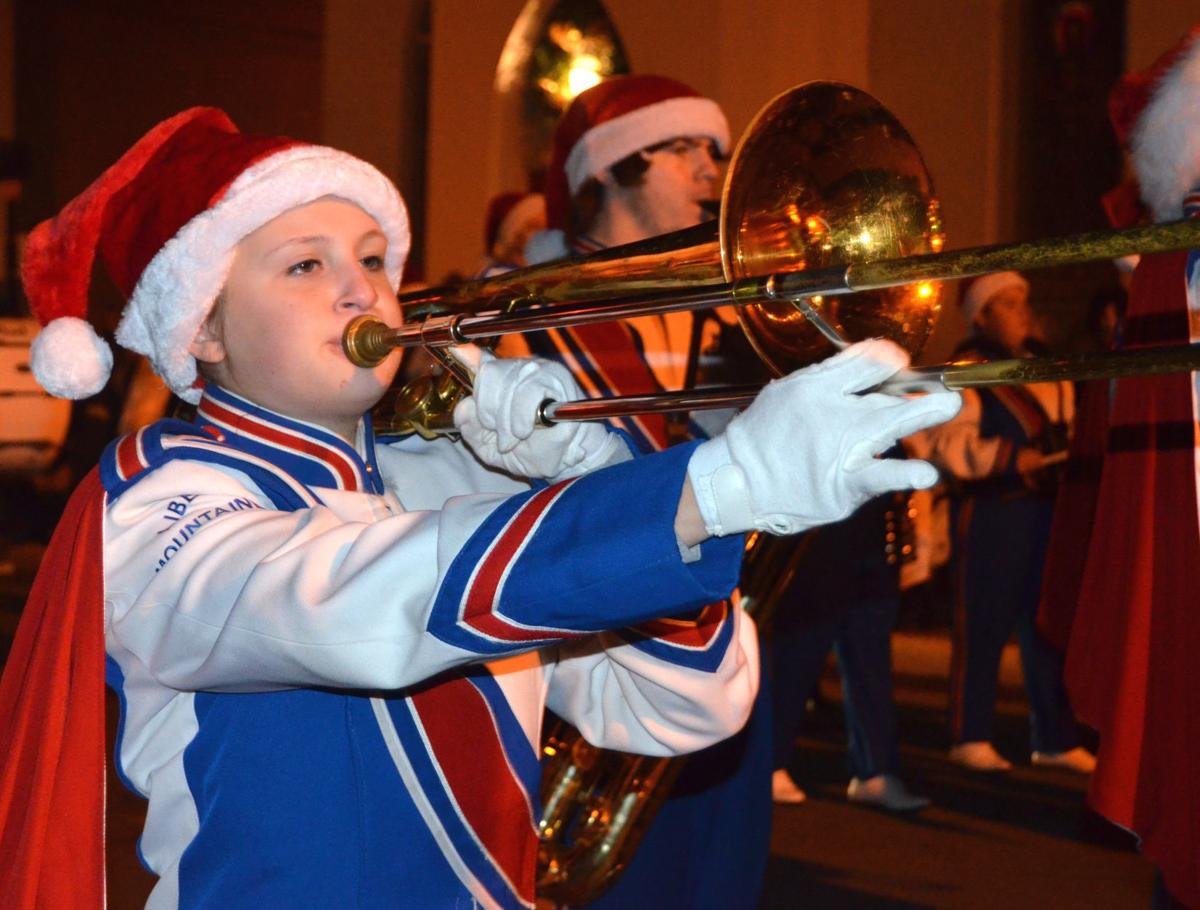 Liberty H.S. Christmas parade