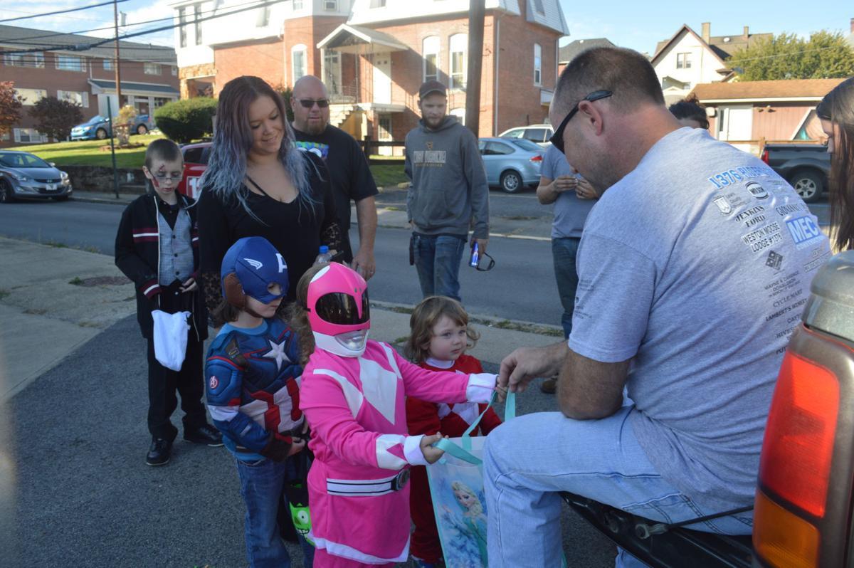 Distributing candy