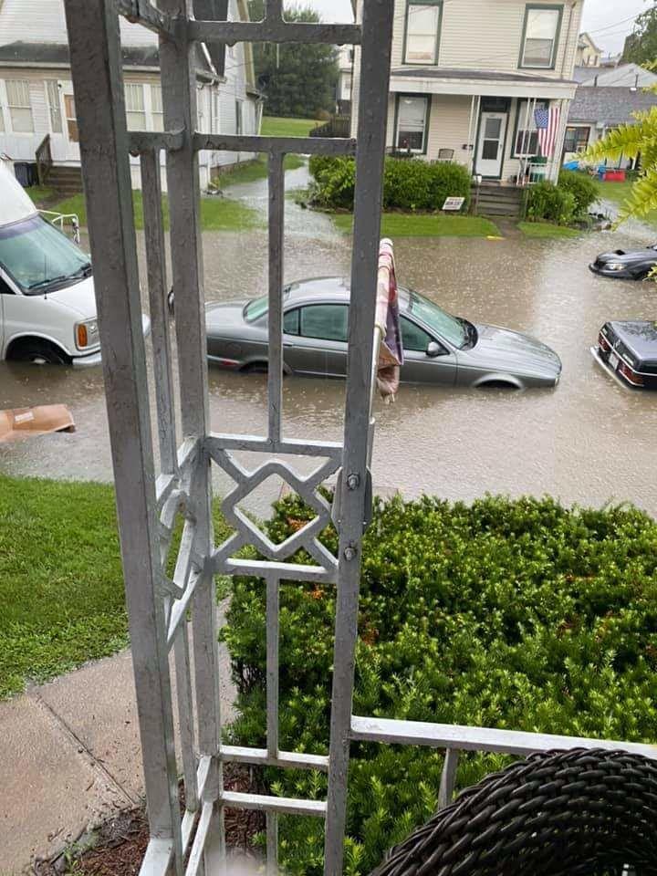 Maryland Ave. flooding