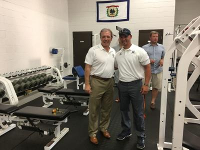 Liberty dedicates strength and conditioning facility to Fisher
