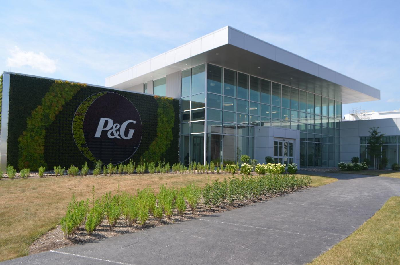 Proctor & Gamble Tabler Station's main building