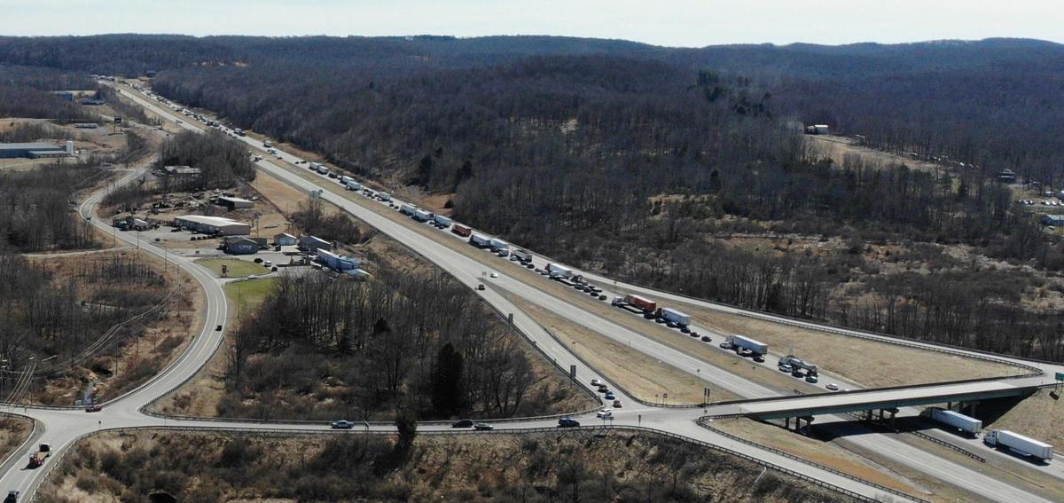 Interstate 68 closed