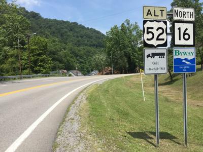 Welch Highway sign