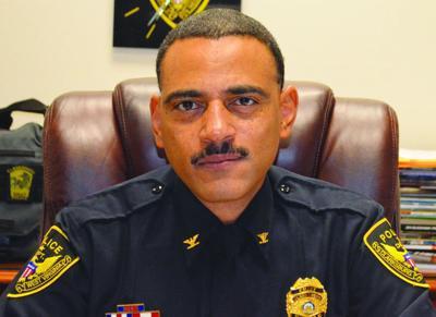 Clarksburg Police Chief Robbie Hilliard