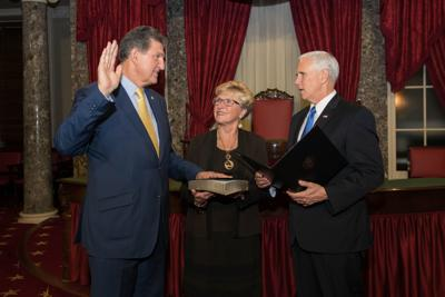 Manchin sworn in