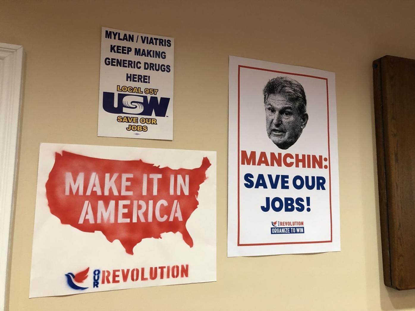 Save Our Jobs Town Hall, Manchin