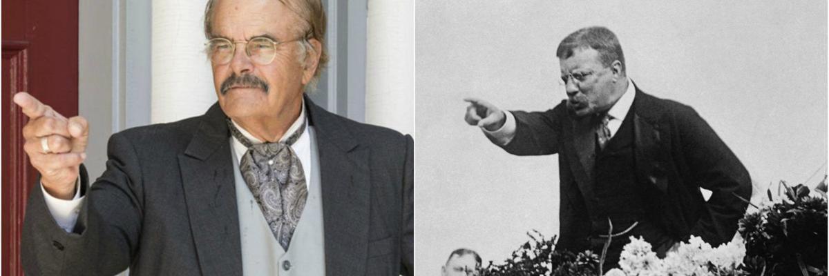 Worthington as Roosevelt