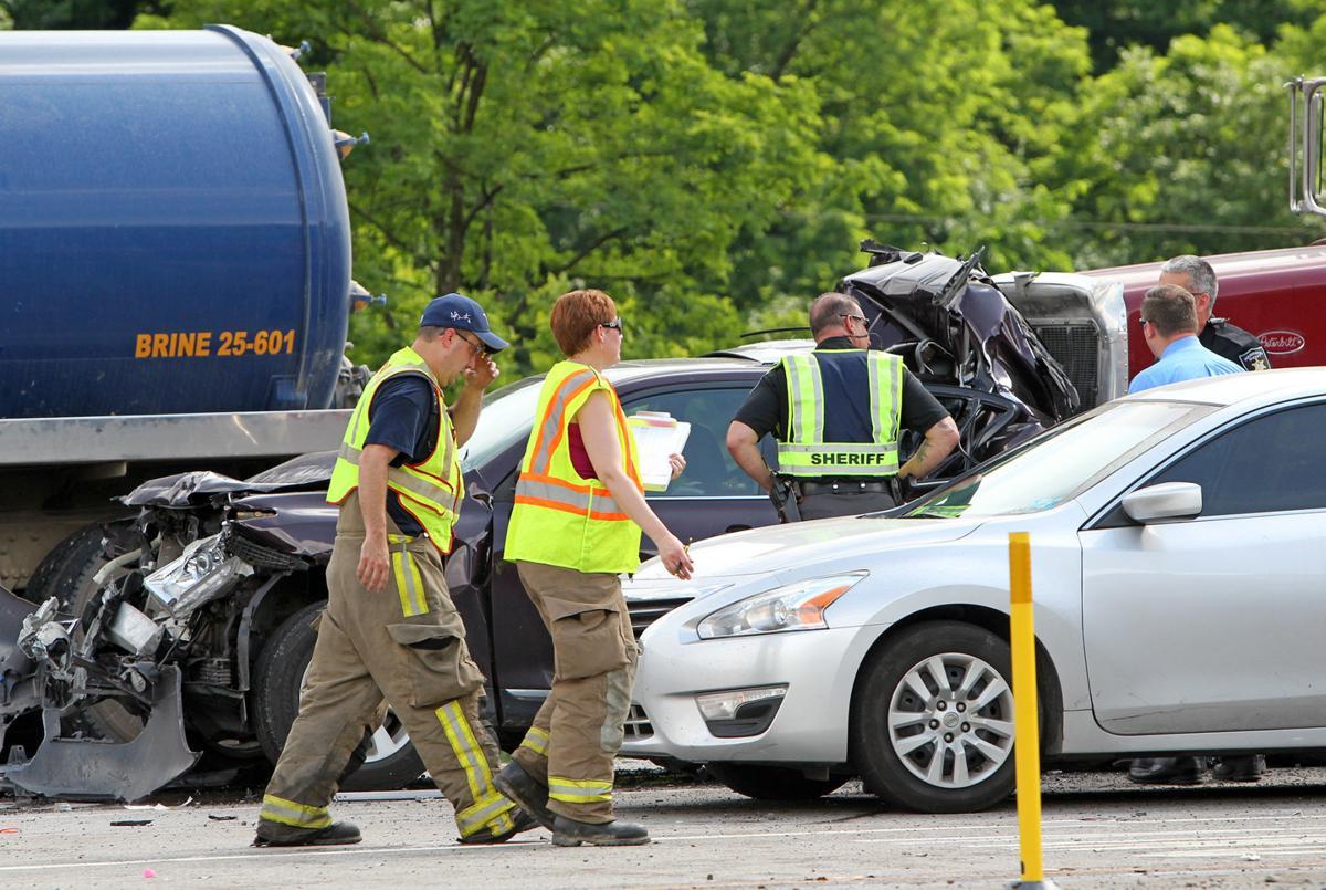 Sheriff: Two dead, five transported in W Va  98-U S  50