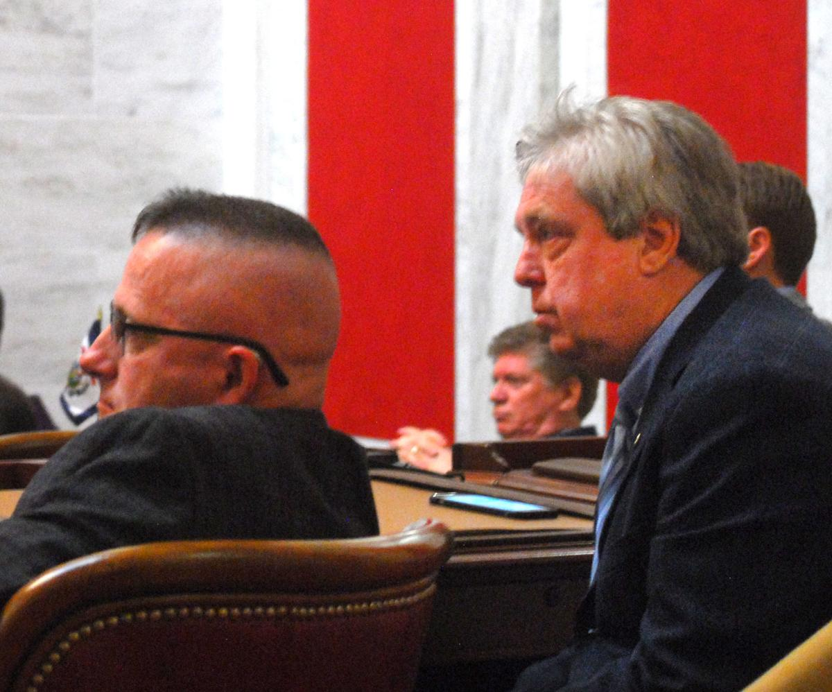 Mike Woelfel opposes timbering parks