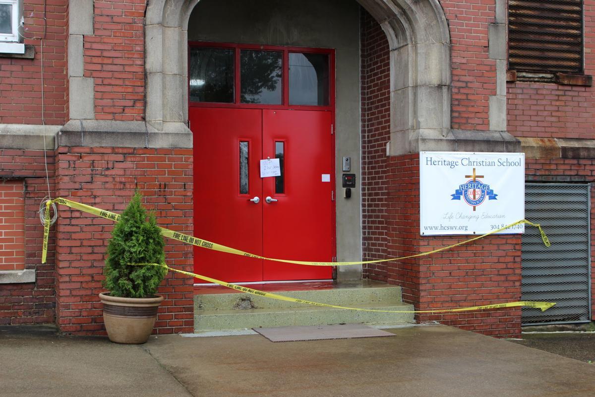 Heritage Christian School damaged