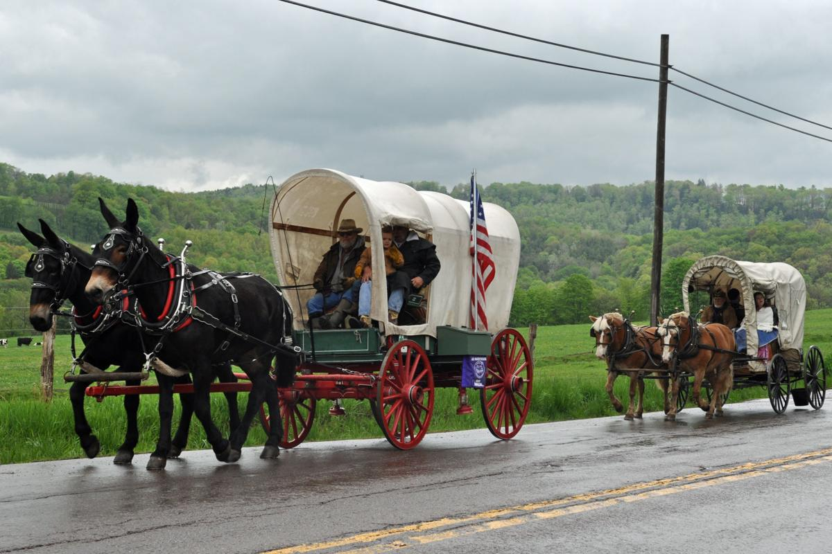 National Pike Wagon Train in 45th year