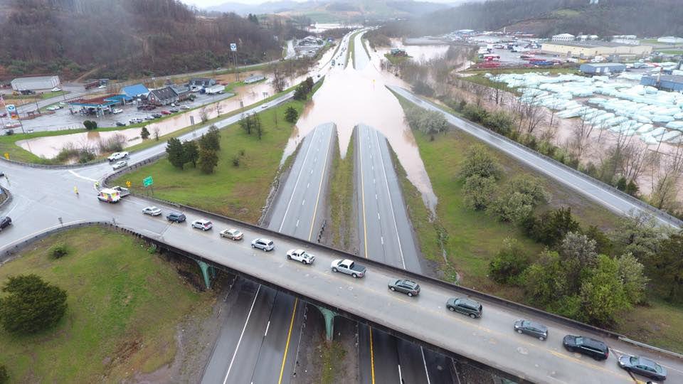 Interstate 79 southbound