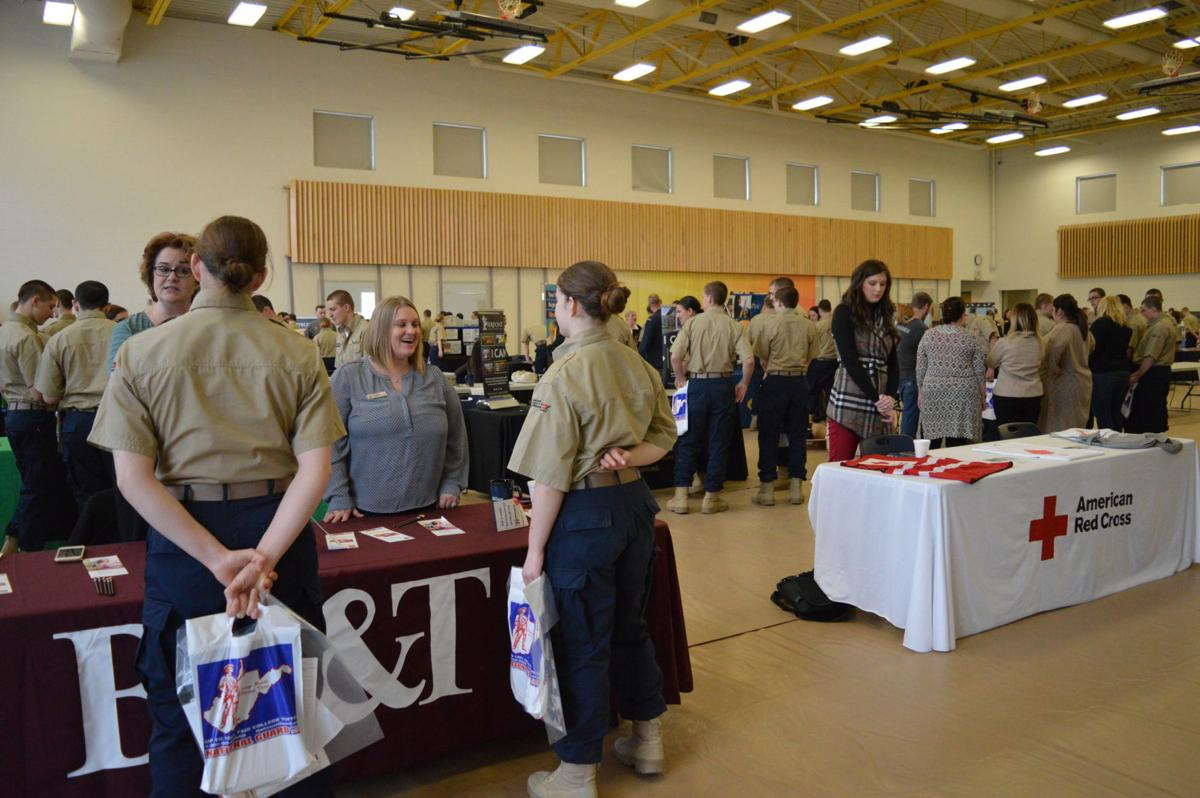Mountaineer ChalleNGe Academy cadets face choices at Career