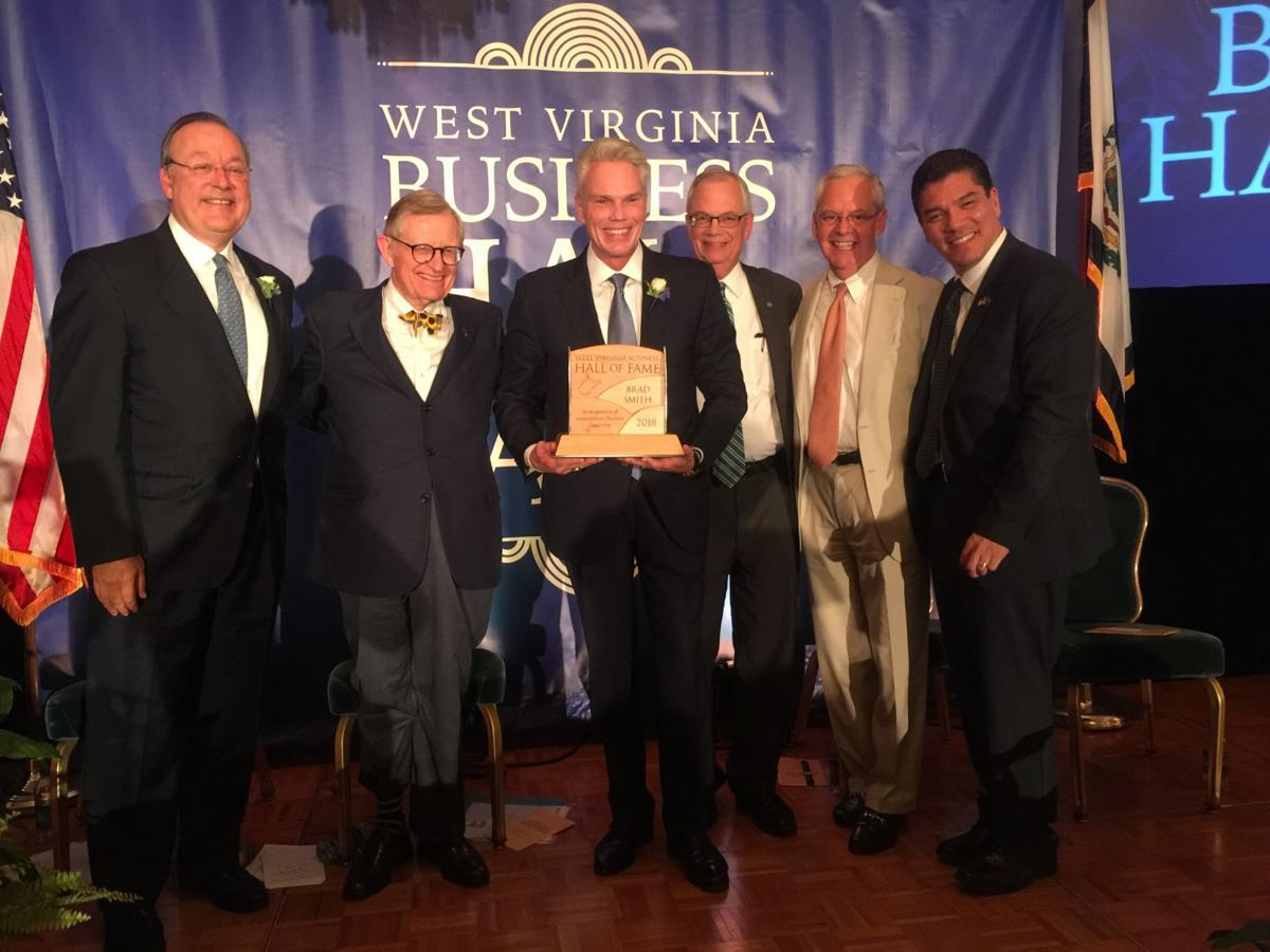 Brad Smith inducted into WV Business Hall of Fame