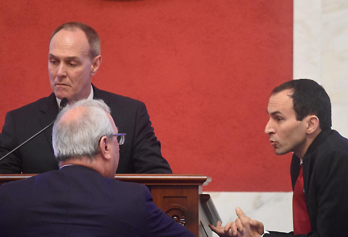 Senate bench conference